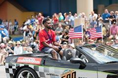 Indy 500 ståtar 2018 fotografering för bildbyråer