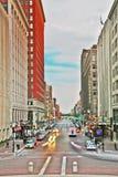 Indy van de binnenstad Stock Fotografie