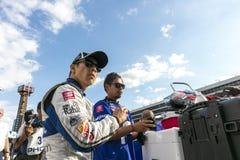 IndyCar: Технология 600 7-ое июня DXC стоковые фото