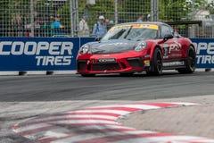 2017年Indycar系列种族在多伦多 免版税库存图片