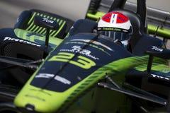IndyCar :格兰披治6月02日底特律 免版税库存图片