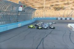 IndyCar: April 07 ökenDiamond West Valley Casino Phoenix grand prix Arkivbild