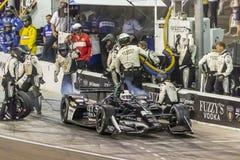 IndyCar: April 07 ökenDiamond West Valley Casino Phoenix grand prix Fotografering för Bildbyråer
