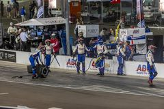 IndyCar: April 07 ökenDiamond West Valley Casino Phoenix grand prix Arkivfoton