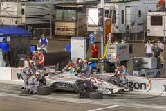 IndyCar: April 07 ökenDiamond West Valley Casino Phoenix grand prix Arkivbilder