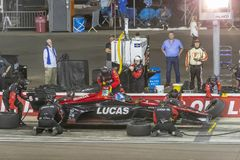 IndyCar: April 07 Desert Diamond West Valley Casino Phoenix Gran. April 07, 2018 - Avondale, Arizona, USA: Robert Wickens 6 brings his car down pit road for stock images