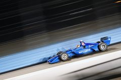 IndyCar: April 06 Desert Diamond West Valley Casino Phoenix Grand Prix. April 06, 2018 - Avondale, Arizona, USA: Ed Jones 10 takes to the track to practice for royalty free stock image