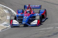 IndyCar: Am 20. April Honda Indy Grandprix von Alabama Lizenzfreies Stockfoto