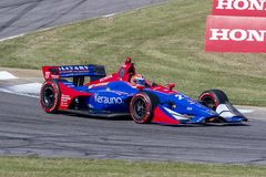 IndyCar: Am 20. April Honda Indy Grandprix von Alabama Lizenzfreie Stockfotos