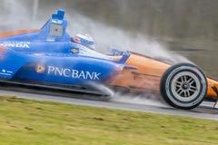 IndyCar : 22 avril Honda Indy Grand prix de l'Alabama photographie stock libre de droits