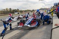 IndyCar : 7 avril Honda Indy Grand Prix de l'Alabama image libre de droits