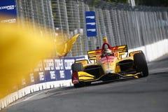 IndyCar: 15 de julio Honda Indy Toronto fotos de archivo