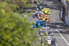 IndyCar: Firestone στις 11 Μαρτίου Grand Prix της Αγία Πετρούπολης Στοκ Εικόνα