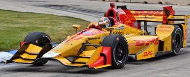 IndyCar i Detroit på Belle Isle, 2016 Fotografering för Bildbyråer