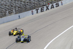 IndyCar 2013:  IZOD IndyCar Series Firestone 550 June 07 Royalty Free Stock Photos