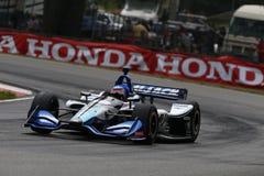 IndyCar : 29 juillet Honda Indy 200 photographie stock libre de droits