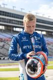 IndyCar:  June 07 DXC Technology 600. FELIX ROSENQVIST 10 of Sweeden prepares to qualify for the DXC Technology 600 at Texas Motor Speedway in Ft Worth, Texas stock image