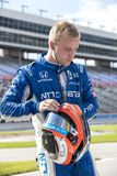 IndyCar:  June 07 DXC Technology 600. FELIX ROSENQVIST 10 of Sweeden prepares to qualify for the DXC Technology 600 at Texas Motor Speedway in Ft Worth, Texas stock images