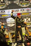 IndyCar: June 08 DXC Technology 600. JOSEF NEWGARDEN 2 of the United States wins the DXC Technology 600 at the DXC Technology 600 at Texas Motor Speedway in Ft stock photo