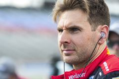 IndyCar:  June 07 DXC Technology 600. WILL POWER 12 of Australia prepares to qualify for the DXC Technology 600 at Texas Motor Speedway in Ft Worth, Texas royalty free stock photos