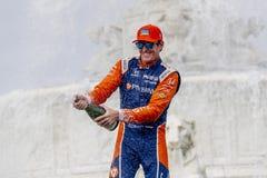 IndyCar: Juni 02 Detroit grand prix arkivbilder