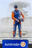 IndyCar: Juni 02 Detroit grand prix royaltyfri fotografi