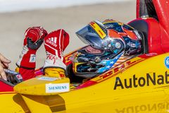 IndyCar: Juni 03 Detroit grand prix arkivfoton