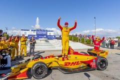 IndyCar: Juni 03 Detroit grand prix arkivbilder