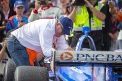 IndyCar: Juni 02 Detroit grand prix Arkivfoto