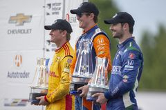 IndyCar: Juni 02 Detroit grand prix Arkivbild