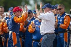 IndyCar: Juni 02 Detroit grand prix Royaltyfri Bild