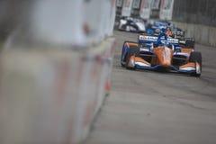 IndyCar: Juni 03 Detroit grand prix Royaltyfria Foton