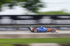IndyCar: Juni 03 Detroit grand prix Royaltyfri Fotografi