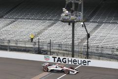 IndyCar: Maj 12 IndyCar grand prix Royaltyfri Bild