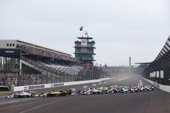 IndyCar: Maj 12 IndyCar grand prix Arkivbild