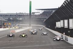 IndyCar: Maj 12 IndyCar grand prix Royaltyfria Bilder