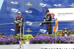 IndyCar: Maj 12 IndyCar grand prix Arkivfoto