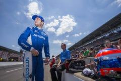 IndyCar: Maj 25 Indianapolis 500 Arkivbild