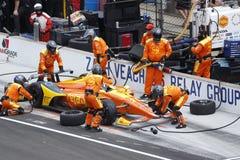 IndyCar: Maj 27 Indianapolis 500 Arkivfoton