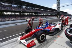 IndyCar: Maj 27 Indianapolis 500 Fotografering för Bildbyråer
