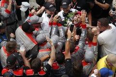 IndyCar: Maj 27 Indianapolis 500 Arkivbild