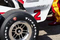 IndyCar: March 10 Firestone Grand Prix of St. Petersburg royalty free stock images