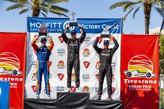 IndyCar: March 10 Firestone Grand Prix of St. Petersburg stock images
