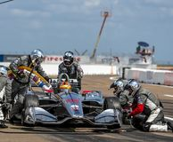 IndyCar: March 10 Firestone Grand Prix of St. Petersburg royalty free stock image