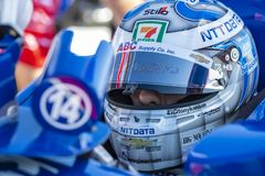 IndyCar: March 09 Firestone Grand Prix of St. Petersburg royalty free stock photography