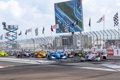 IndyCar: March 10 Firestone Grand Prix of St. Petersburg stock photos