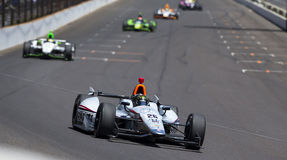 IndyCar:  May 25 Double Duty Stock Photography