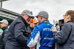 IndyCar: May 10 IndyCar Grand Prix of Indianpolis stock photos