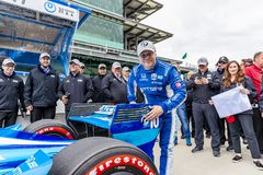 IndyCar: May 10 IndyCar Grand Prix of Indianpolis royalty free stock photos