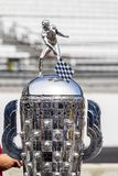IndyCar: May 25 Indianapolis 500. May 25, 2019 - Indianapolis, Indiana, USA: The Borg Warner Trophy is displayed before the ring presentation as the Indianapolis royalty free stock images